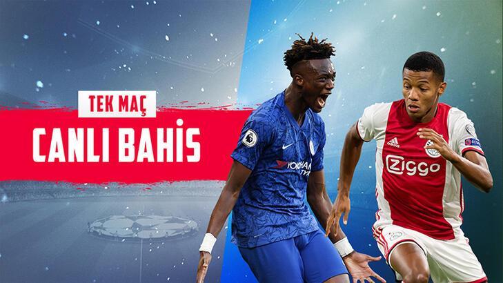Chelsea - Ajax canlı bahis heyecanı Misli.com'da