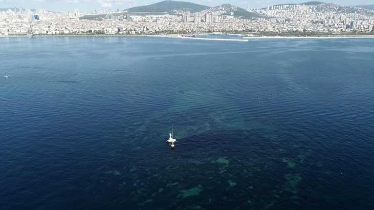 İstanbul'da depremlerle battı! Vordonisi adası havadan fotoğraflandı