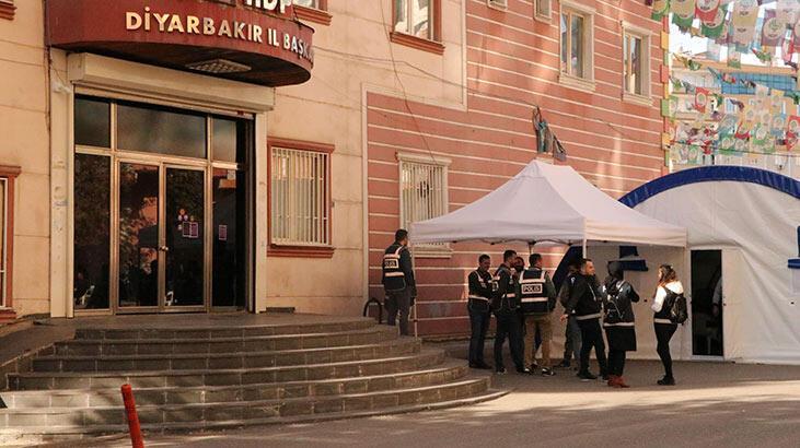 HDP İl Başkanlığı kapatıldı! Artık partililer o binaya gitmeyecek...