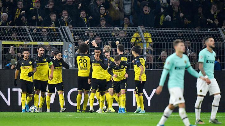 Bol gollü geceye Dortmund damgası! 2-0'dan döndüler...