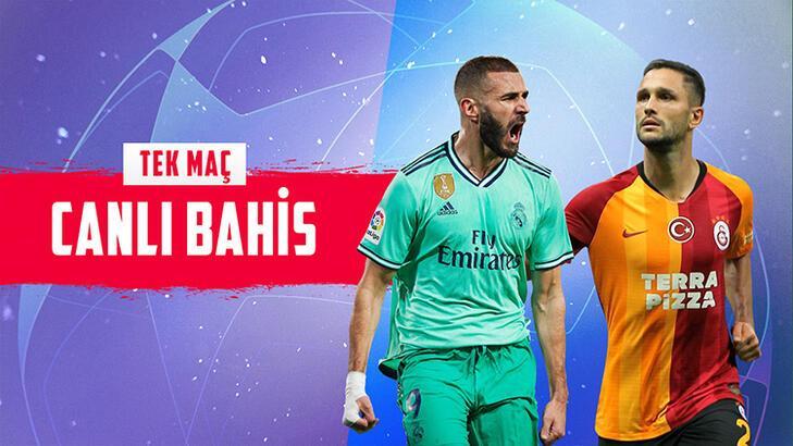 Real Madrid – Galatasaray maçının canlı bahis heyecanı Misli.com'da
