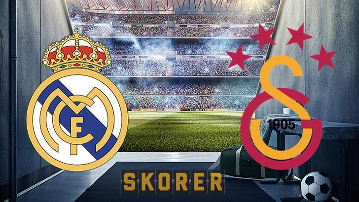 Real Madrid Galatasaray maçı ne zaman? Maç saat kaçta, hangi kanalda? Şifresiz mi?
