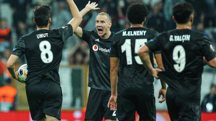 Beşiktaş'ın Avrupa'da 220. randevusu