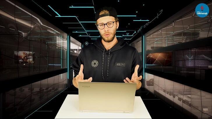 Lenovo Yoga C930 2'si 1 arada laptop incelemesi