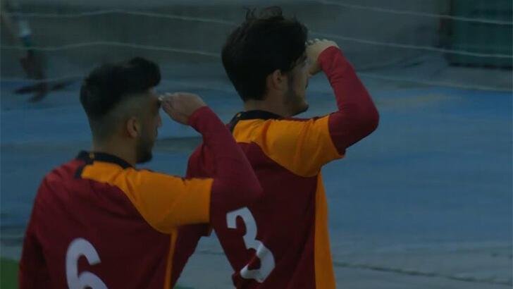 Galatasaray U19 takımından Real Madrid'e 4 gol