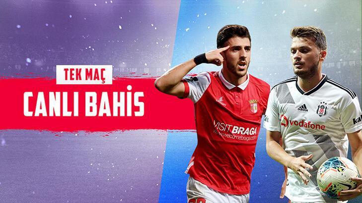 Braga - Beşiktaş maçı canlı bahis heyecanı Misli.com'da