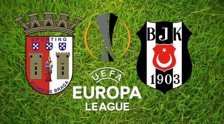 Avrupa Ligi'nde Beşiktaş'ın rakibi Braga! Maç saat kaçta hangi kanalda?