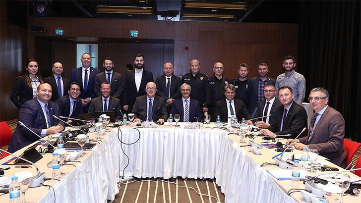 İstanbul 2020 Emniyet ve Güvenlik Toplantısı yapıldı
