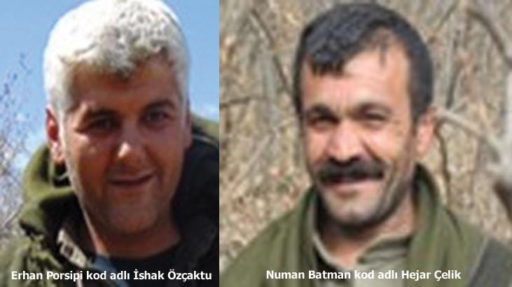 Son dakika | Terör örgütü PKK'ya üst düzey darbe! O iki terörist öldürüldü