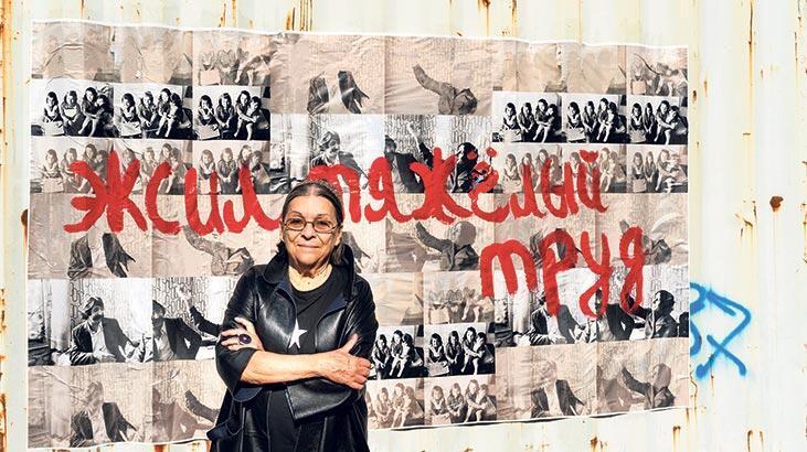 Nil Yalter'in eserleri Paris'te