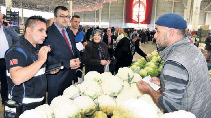 Esnaftan pazarda tahsilat yapılabilecek