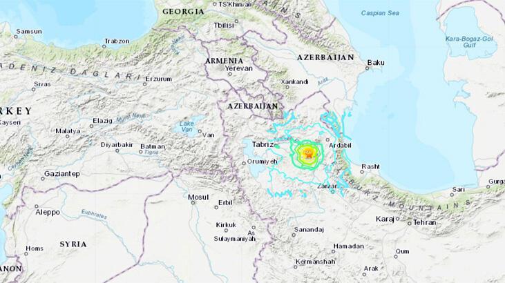 Son dakika: İran'da peş peşe şiddetli depremler!
