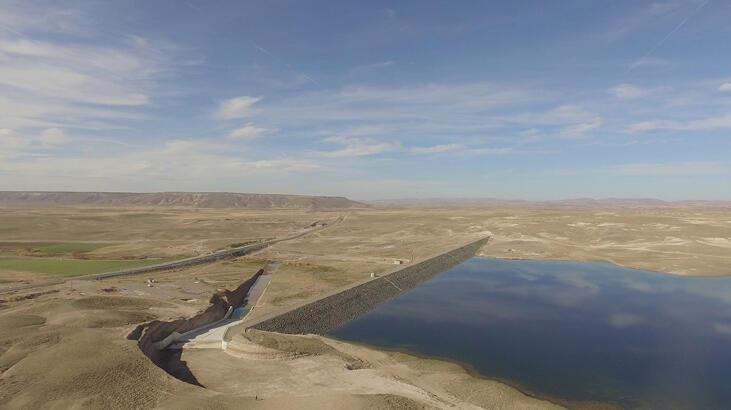 Kocakurt Barajı Sivas'ta 28 bin dekar araziyi suya kavuşturacak