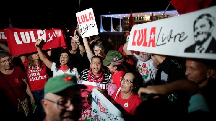 Brezilya'da Lula serbest kalıyor