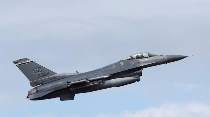 ABD F-16'sı Japonya'da eğitim bombası düşürdü