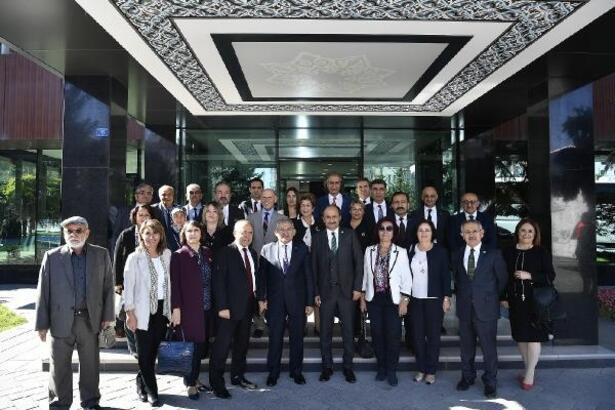 Erciyes Platformundan Başkan Büyükkılıç'a ziyaret