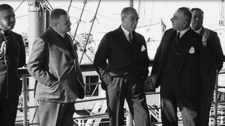 Bakan Ersoy, Atatürk'ün hiç yayınlanmamış görüntülerini paylaştı