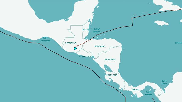 Son dakika... Guatemala'da deprem
