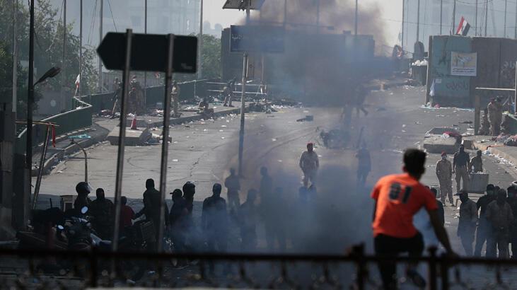 Gösterilerle sarsılan Irak'ta kabine değişiyor