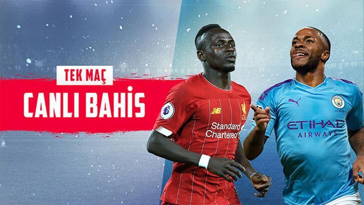 Büyük heyecan! Manchester City-Liverpool maçı canlı bahisle Misli.com'da...
