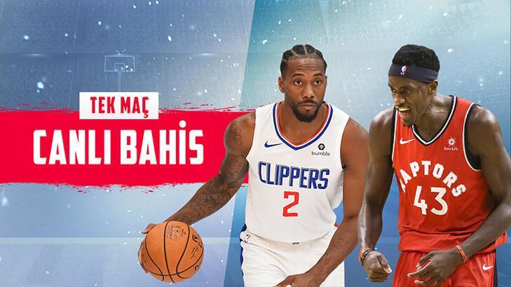 La Clippers – Toronto Raptors maçı canlı bahisle Misli.com'da!