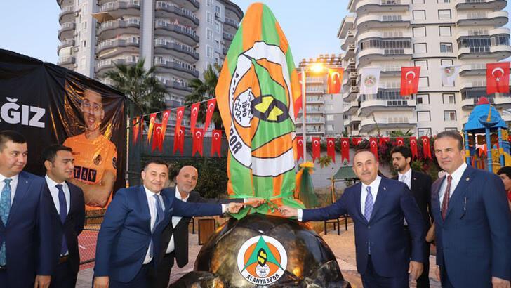 Bakan Çavuşoğlu, Josef Sural adına yapılan parkı açtı