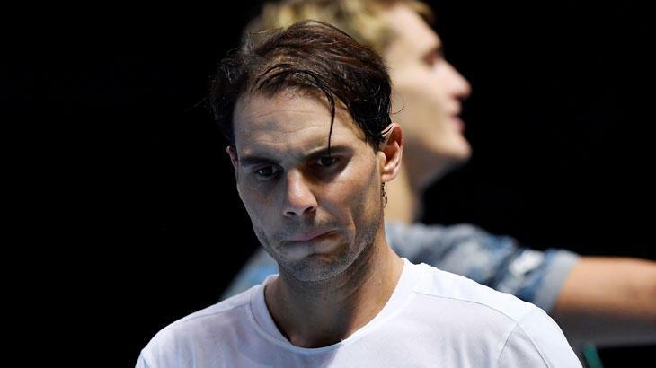 Federer'in ardından Nadal da ATP Finalleri'ne veda etti