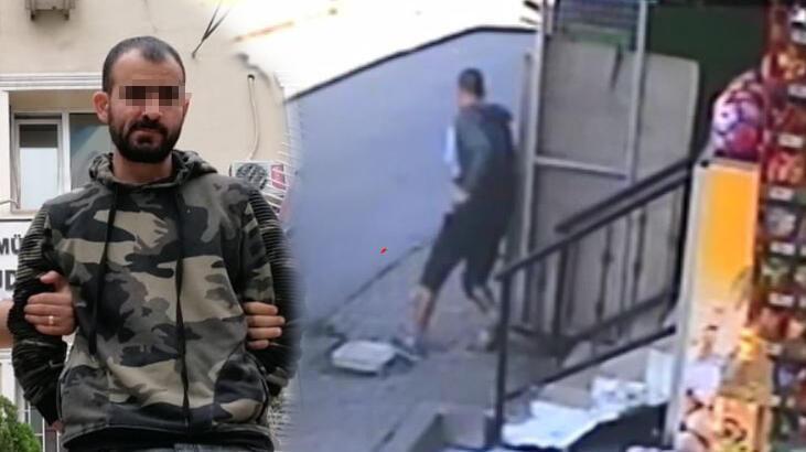 Başakşehir'deki cinayetin zanlısının kamera görüntüleri ortaya çıktı