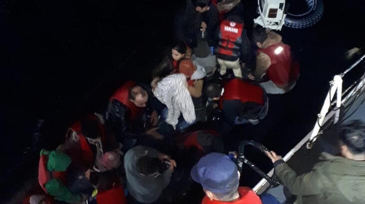Edirne'de 69 kaçak göçmen yakalandı