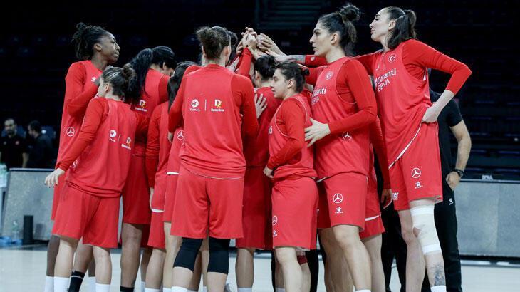 A  Milli Kadın Basketbol Takımı, yarın Sırbistan'a konuk olacak