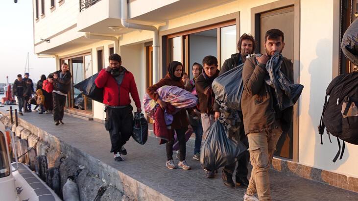 Çanakkale'de 99 düzensiz göçmen yakalandı