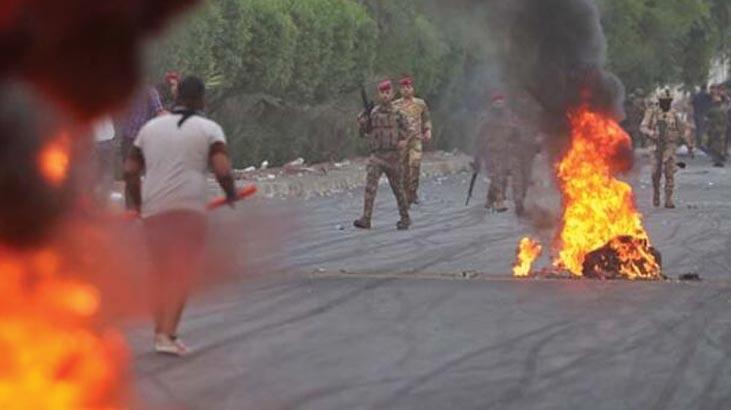 Abdulmehdi ile Barzani, ülkedeki 'gösterileri' görüştü