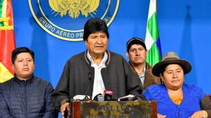 Bolivya'da Morales'i istifaya çağıran generale şok