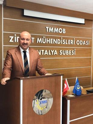 ZMO Başkanı Şahin, yeniden aday oldu