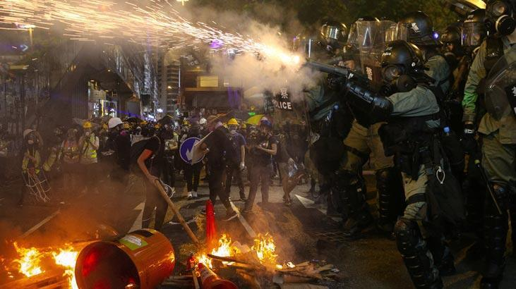 'Hong Kong'un en acil meselesi şiddeti sonlandırmak'