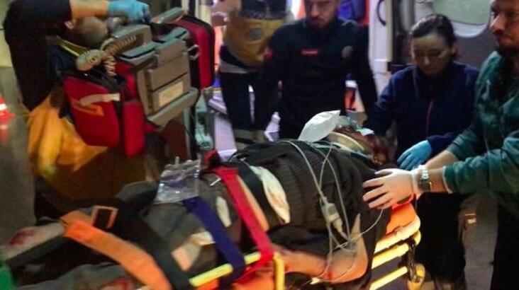 TIR ile otomobil kafa kafaya çarpıştı: 1 yaralı