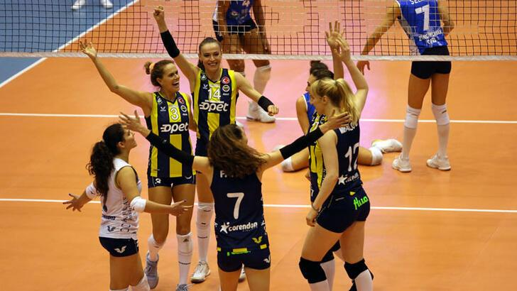 Fenerbahçe Opet - Nilüfer Belediyespor: 3-0