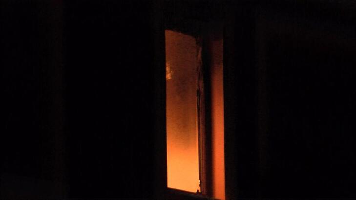 Şişli'de yangın paniği! Mahsur kalanları itfaiye kurtardı