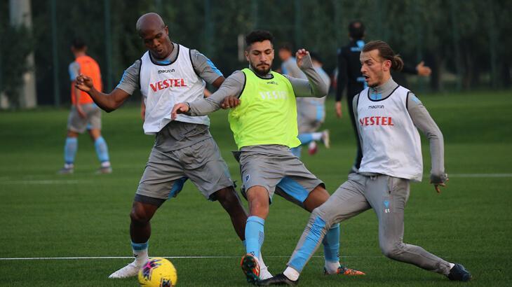 Trabzonspor'da MKE Ankaragücü hazırlıkları sürüyor