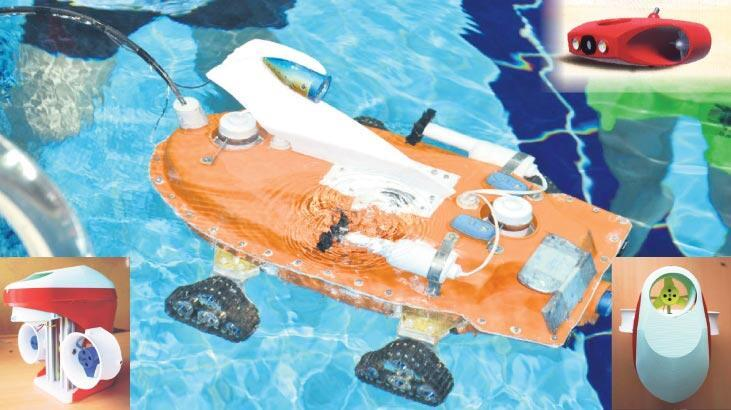 Türk girişimciden su altında kaşif drone