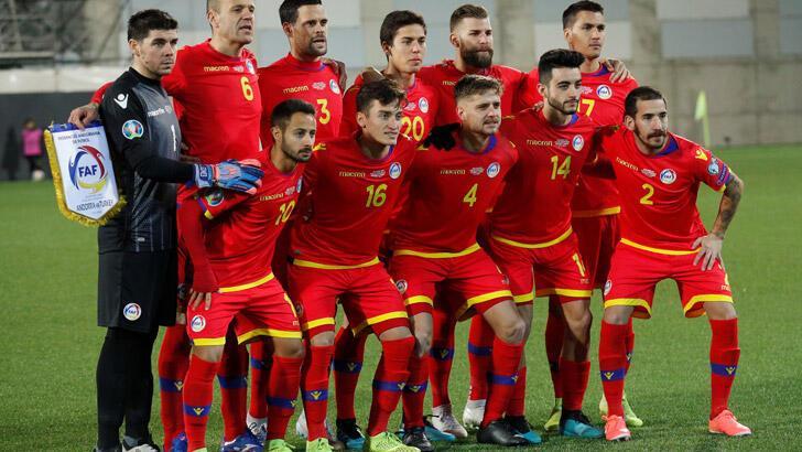 Andorra tarih yazdı