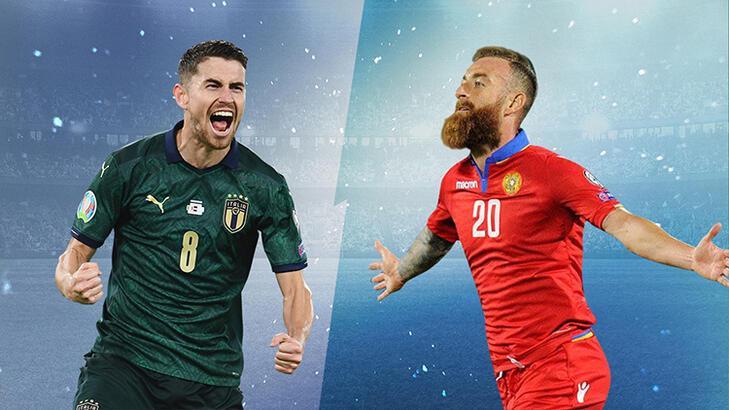 İtalya-Ermenistan maçının heyecanı Misli.com'da