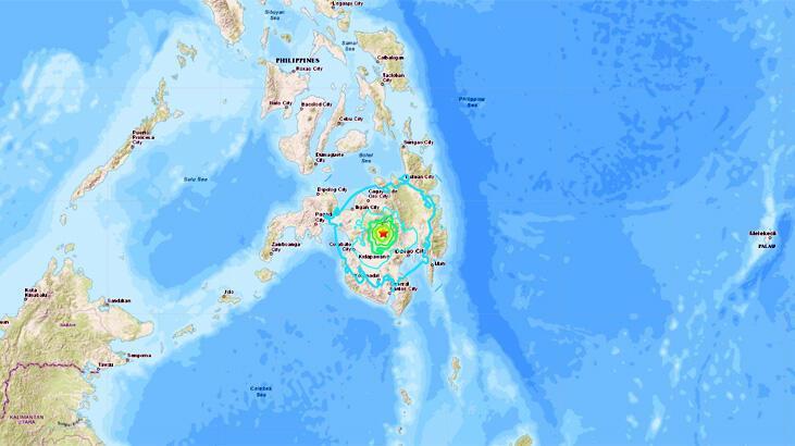 Son dakika... Filipinler'de deprem