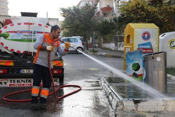 Maltepe'de temizlik seferberliği başladı