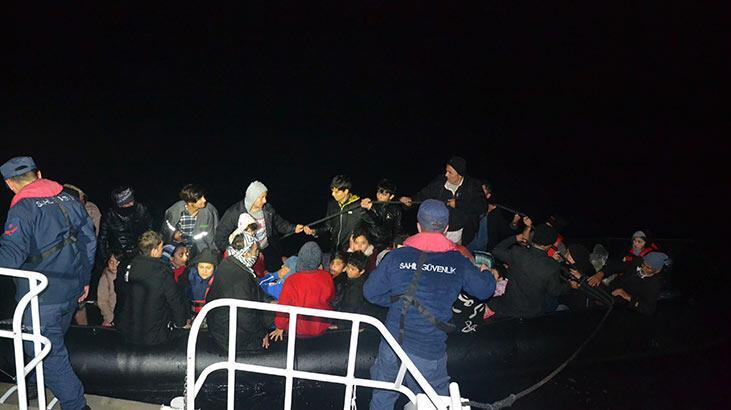 Balıkesir'de 90 kaçak göçmen yakalandı