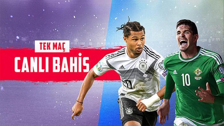 Almanya-Kuzey İrlanda maçı canlı bahis heyecanıyla Misli.com'da