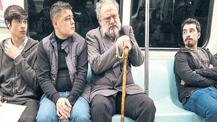 Metroda arya söyleyen Hakan Aysev: Ben de olsam korkardım
