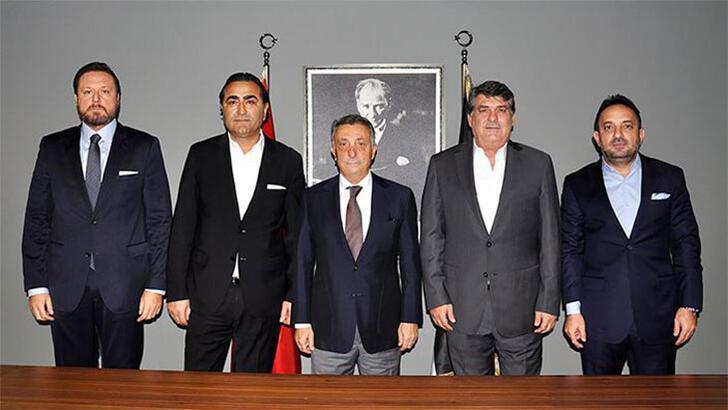 Ahmet Nur Çebi, Beşiktaş'ın eski yöneticileriyle buluştu