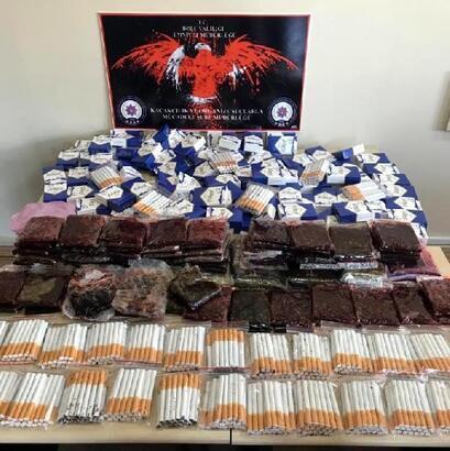 Bolu'da kaçak tütün operasyonu