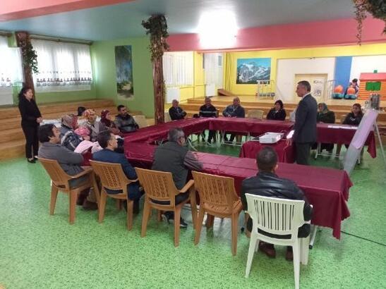 Tokat'ta 'Koruyucu Aile' birinci kademe eğitimi